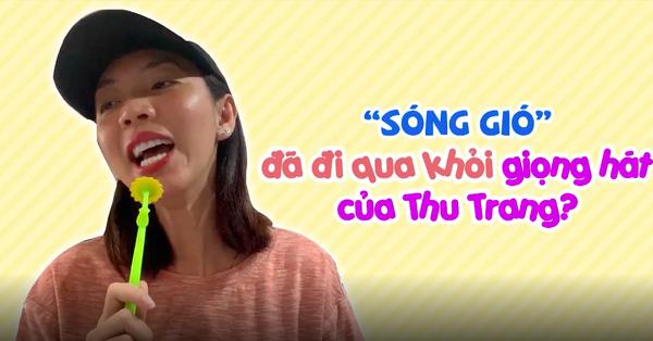 Thu Trang gây ngỡ ngàng khi hát ''Sóng gió'', fan hoang mang sợ Jack và K-ICM không nhận ra bản hit của mình