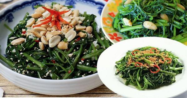 Bỏ ngay 3 thói quen sai lầm này khi ăn rau muống nếu không muốn rước họa vào thân, hại sức khỏe