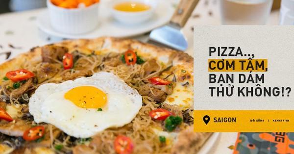 Pizza ''Cơm tấm sườn bì chả'': Món ăn kết hợp ẩm thực Việt tiếp theo rồi sẽ ra sao? Rất ngon hay dở tệ?