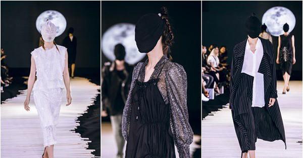Người mẫu bịt kín mặt, hóa thân thành ''kỵ sĩ không đầu'' ma mị đến gai người trong show diễn của NTK Devon