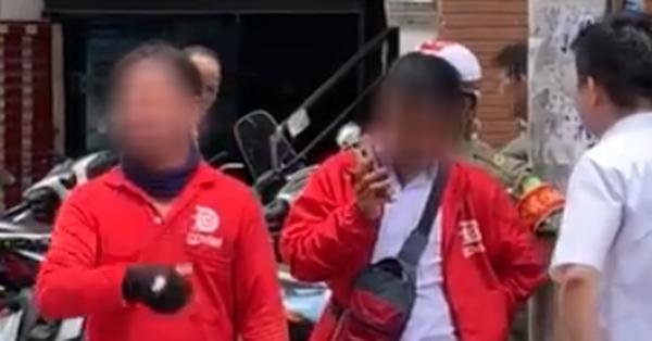 Con trai quên không trả 6.000 đồng, người mẹ trẻ quay sang ném điện thoại vào mặt bác tài rồi vu oan khiến dân mạng bức xúc