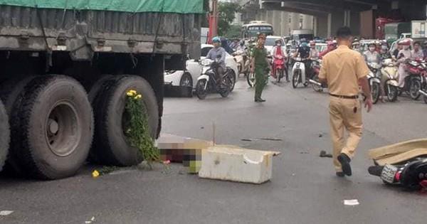 Hà Nội: Va chạm với xe đầu kéo, nữ sinh trường Đại học Công nghiệp tử vong thương tâm