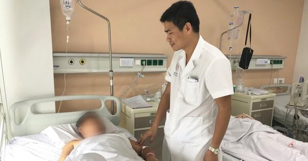 Nam thanh niên ở Hà Nội bị thủng ruột do vô tình nuốt phải 1 que tăm