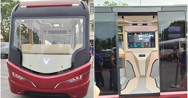 Dân mạng trầm trồ với mẫu xe bus xịn như trên phim viễn tưởng sắp chạy khắp đường phố Việt Nam