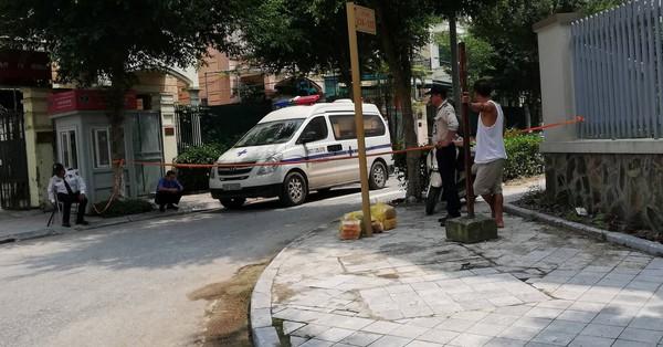 Hà Nội: Bàng hoàng phát hiện nam nhân viên bảo vệ tử vong trên vũng máu