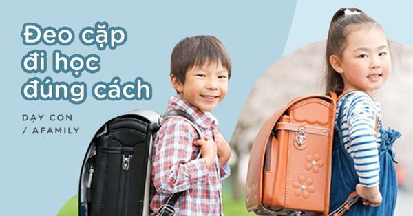 10 lưu ý cho con khi đeo cặp đi học, cha mẹ áp dụng ngay nếu không muốn con bị vẹo cột sống