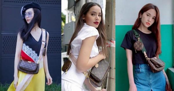 Mua 1 được hẳn 3 lại mix thế nào cũng đẹp, chẳng trách chiếc túi hiệu này được các sao nữ, fashionista khắp muôn nơi mê tít