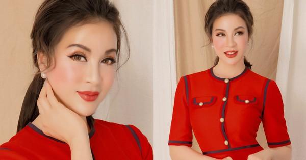 MC Thanh Mai khoe nhan sắc không tuổi trong ''cả cây'' hàng hiệu đắt tiền