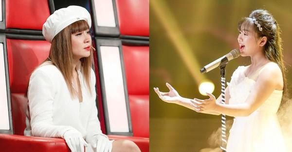 The Voice Kids: Lưu Thiên Hương bật khóc nức nở trước cô học trò hát tặng mẹ bị ung thư