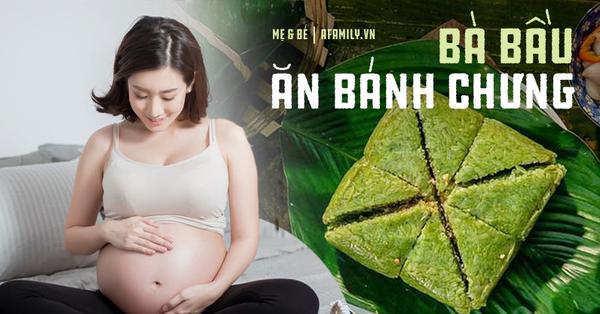 Bà bầu ăn bánh chưng, dưa hành dịp Tết phải lưu ý điều này để không ảnh hưởng đến thai nhi