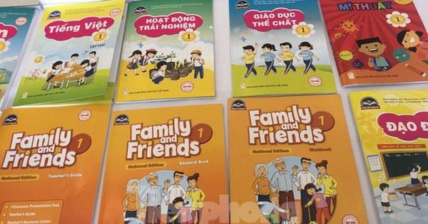 6 cuốn sách giáo khoa tiếng Anh lớp 1 được phê duyệt của nhà xuất bản nào?