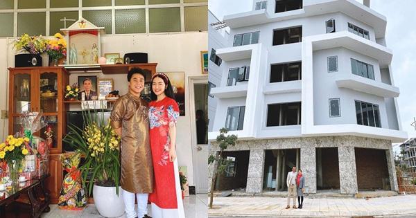 Hòa Minzy tậu cho bố mẹ căn nhà