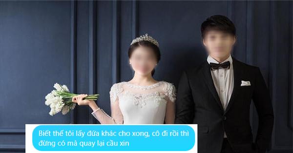 Sau lễ ăn hỏi, chồng buông câu: