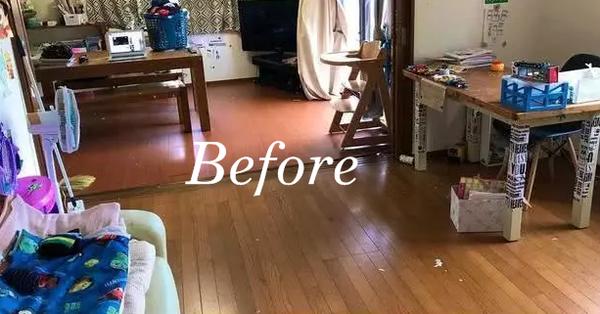 Hình ảnh ngôi nhà trước và sau 3 ngày người mẹ bị ốm khiến ai cũng kinh hãi