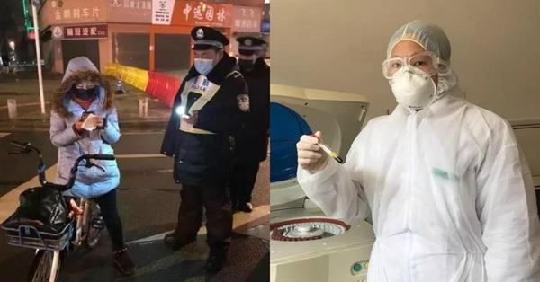 """4 ngày 3 đêm đạp xe gần 300km để đến """"ổ dịch"""" Vũ Hán làm việc, nữ bác sĩ khiến nhiều người cảm kích vô hạn"""