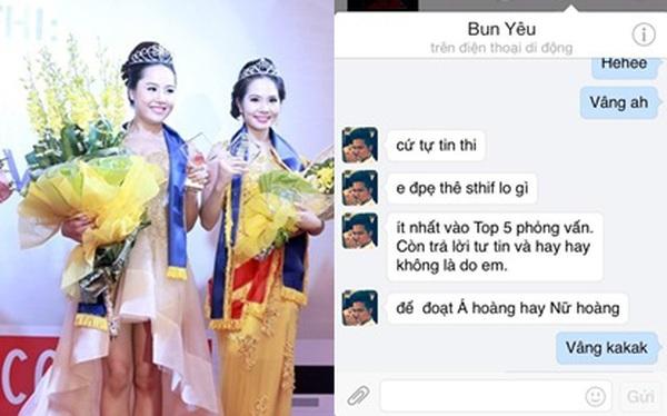 Rò rỉ tin nhắn BTC ''Nữ hoàng sắc đẹp Việt Nam'' dụ thí sinh