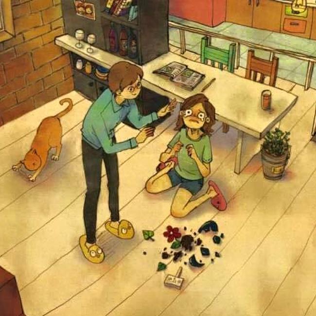 """Mỗi khi về nhà, tôi chỉ muốn """"tăng xông"""" tại chỗ vì cảnh tượng bừa bộn do chính bạn thân của chồng gây ra - Ảnh 2."""