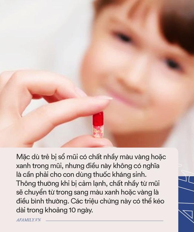 Nhi khoa Hoa Kỳ giải đáp 10 câu hỏi phổ biến về việc dùng kháng sinh cho trẻ - Ảnh 3.