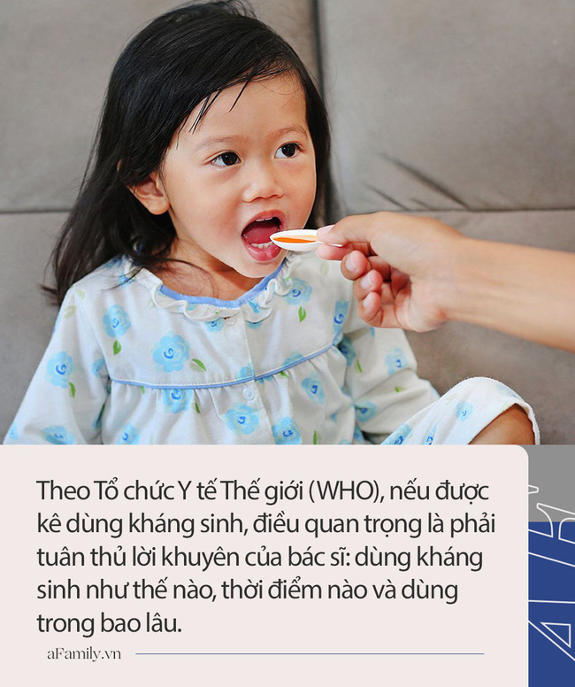 Điều tối kị khi cho trẻ dùng thuốc kháng sinh nhiều cha mẹ đang mắc phải - Ảnh 1.