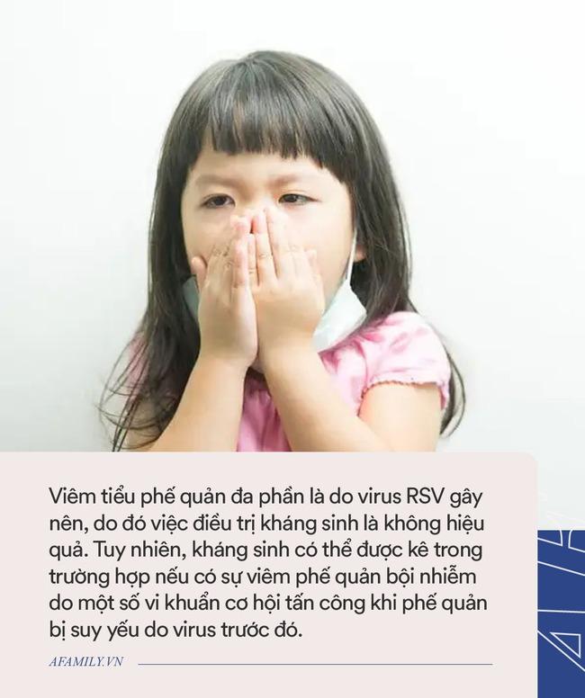 Bố mẹ nên nhớ: Đến 80% các trường hợp trẻ bị viêm tiểu phế quản là do virus và không cần dùng kháng sinh - Ảnh 4.