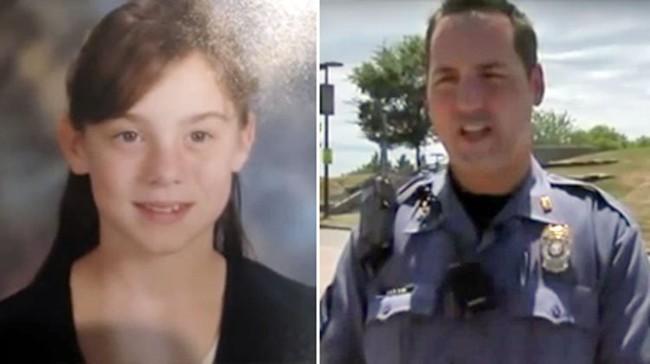 Ngày nào cũng ra chào chú cảnh sát, đến một ngày, bé gái không xuất hiện khiến đối phương phải tìm đến tận nhà rồi ngỡ ngàng với hoàn cảnh của đứa trẻ - Ảnh 1.