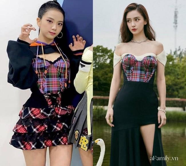 Xinh như Hoa hậu nhưng Jisoo vẫn lép vế trước Angela Baby khi diện áo cúp ngực, fan của BLACKPINK còn đứng về phía bà mẹ 1 con  - Ảnh 5.