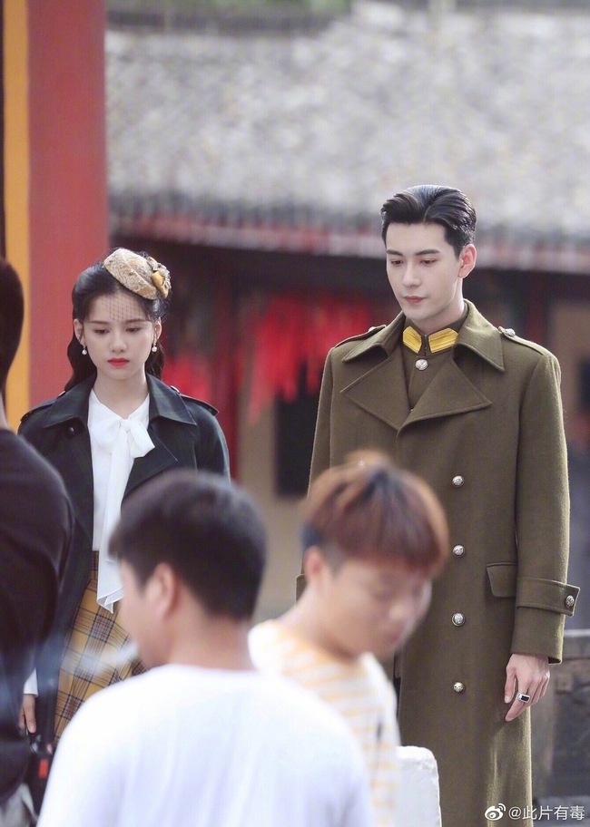 Trần Tinh Húc và Trương Tịnh Nghi trong bộ phim Nhất kiến khuynh tâm.