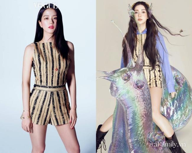 Xinh như Hoa hậu nhưng Jisoo vẫn lép vế trước Angela Baby khi diện áo cúp ngực, fan của BLACKPINK còn đứng về phía bà mẹ 1 con  - Ảnh 8.