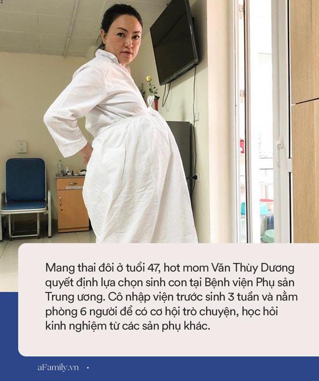 """Không chọn viện tư, hot mom Văn Thùy Dương quyết định sinh con ở bệnh viện bình dân này với chi phí cực """"mềm"""" - Ảnh 1."""