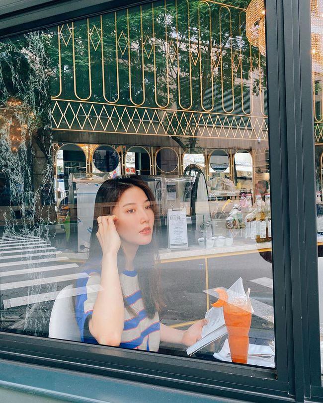 Diễm My 9X đẹp ngọt ngào trong bức hình mới.