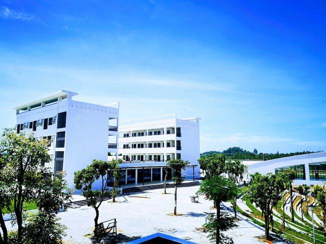 Ngôi trường chuyên có cơ sở vật chất cực hoành tráng, góc sống ảo nghìn like, chế độ đãi ngộ cho học sinh đáng mơ ước - Ảnh 1.