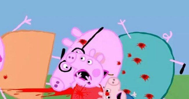 Điểm mặt loạt hình ảnh rùng mình của nhân vật hoạt hình Peppa Pig trên Youtube: Gieo rắc ý định tự tử vào đầu trẻ? - Ảnh 5.