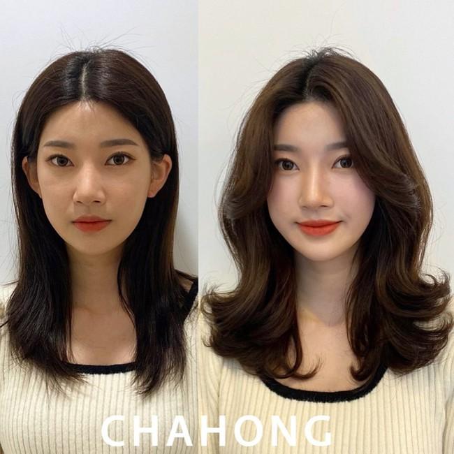Hai kiểu tóc xoăn khiến hội chị em Hàn Quốc khi nhau đặt lịch làm, thợ - Ảnh 2.