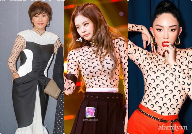 """U55 vẫn chạy theo trend Kpop, """"chị đại"""" Lưu Gia Linh nhận ngay cái kết đắng khi đụng hàng Jennie (Black Pink) - Ảnh 6."""