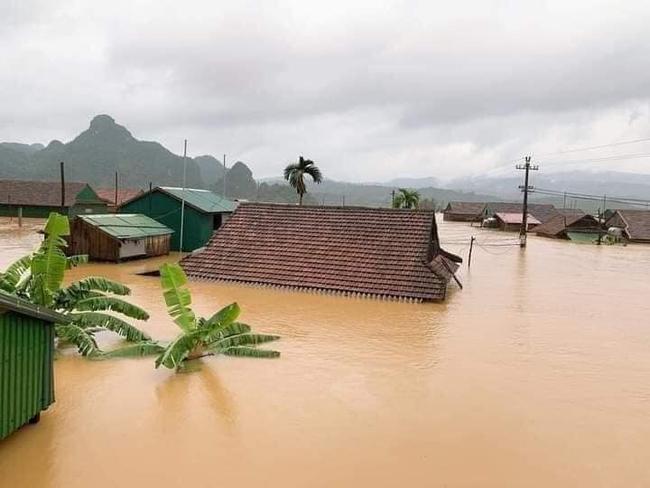 Quảng Trị nguy cơ tái diễn lũ lịch sử lần 2, mưa đặc biệt to ở miền Trung kéo dài đến bao giờ? - Ảnh 1.