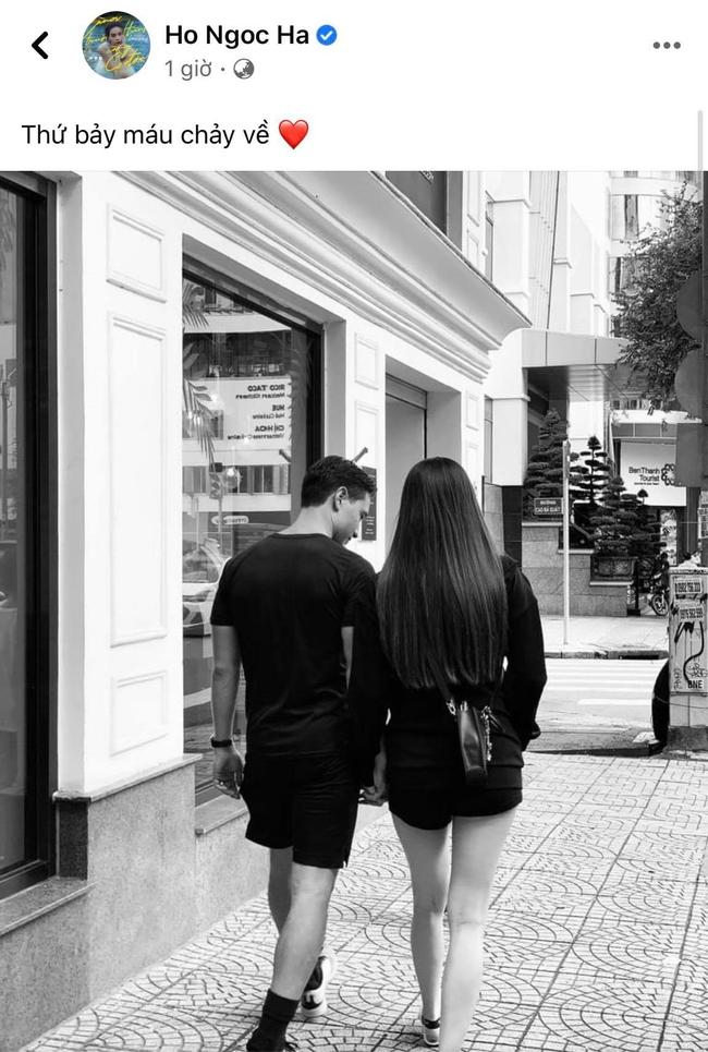 Tranh thủ hẹn hò Kim Lý, Hồ Ngọc Hà lộ vóc dáng cuối thai kỳ gây bất ngờ - Ảnh 2.