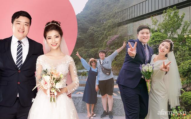 """Cuộc hôn nhân của cô gái Việt và chồng Hàn có cân nặng gấp đôi mình: Hôm ra mắt, chồng """"say lăn quay"""" với bố vợ, mẹ chồng ngày ngày cùng con dâu làm điều đặc biệt! - Ảnh 1."""