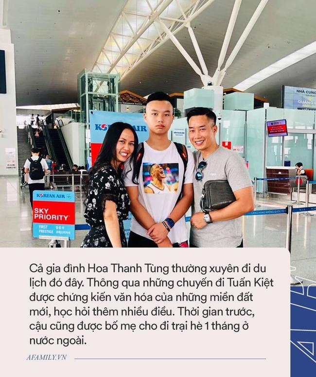"""MC Hoa Thanh Tùng có cậu con trai """"sao y bản chính"""", học ở trường quốc tế với mức học phí """"dân thường"""" nghe xong ngất xỉu - Ảnh 6."""