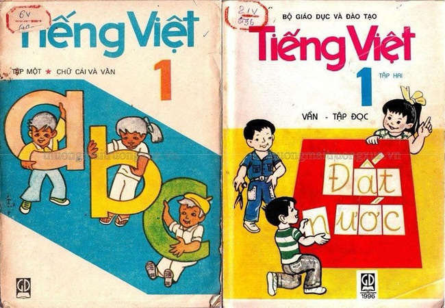 Sách tiếng Việt lớp 1 xưa, vì sao bao nhiêu năm vẫn in hằn trong trí nhớ? - Ảnh 1.
