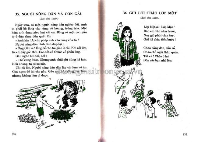 Sách tiếng Việt lớp 1 xưa, vì sao bao nhiêu năm vẫn in hằn trong trí nhớ? - Ảnh 6.