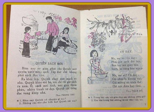 Sách tiếng Việt lớp 1 xưa, vì sao bao nhiêu năm vẫn in hằn trong trí nhớ? - Ảnh 5.