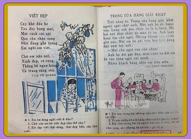 Sách tiếng Việt lớp 1 xưa, vì sao bao nhiêu năm vẫn in hằn trong trí nhớ? - Ảnh 2.