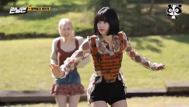 BLACKPINK tham gia Running Man: Lisa tưởng yếu đuối lại mạnh không tưởng, khiến Yoo Jae Suk phải nhờ trợ giúp  - Ảnh 3.
