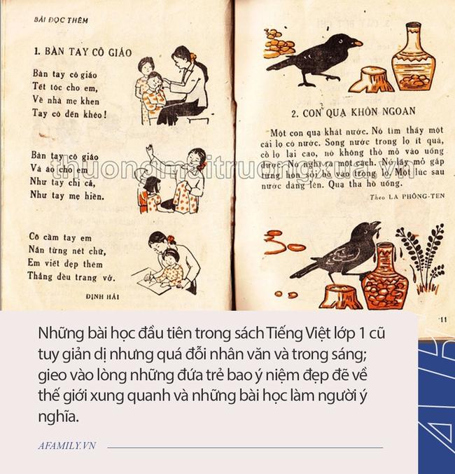 Sách tiếng Việt lớp 1 xưa, vì sao bao nhiêu năm vẫn in hằn trong trí nhớ? - Ảnh 3.