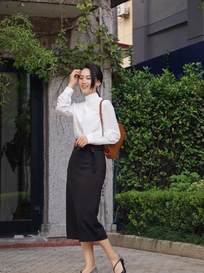 Street style Châu Á: Hội chị em lên đồ chuẩn gái Pháp, toàn blazer và cardigan nhưng nhìn sang hết nấc - Ảnh 3.