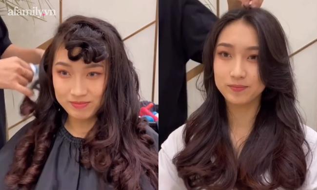 Cú sốc mà chị em nào cũng phải trải qua khi đi uốn tóc ngoài tiệm  - Ảnh 2.