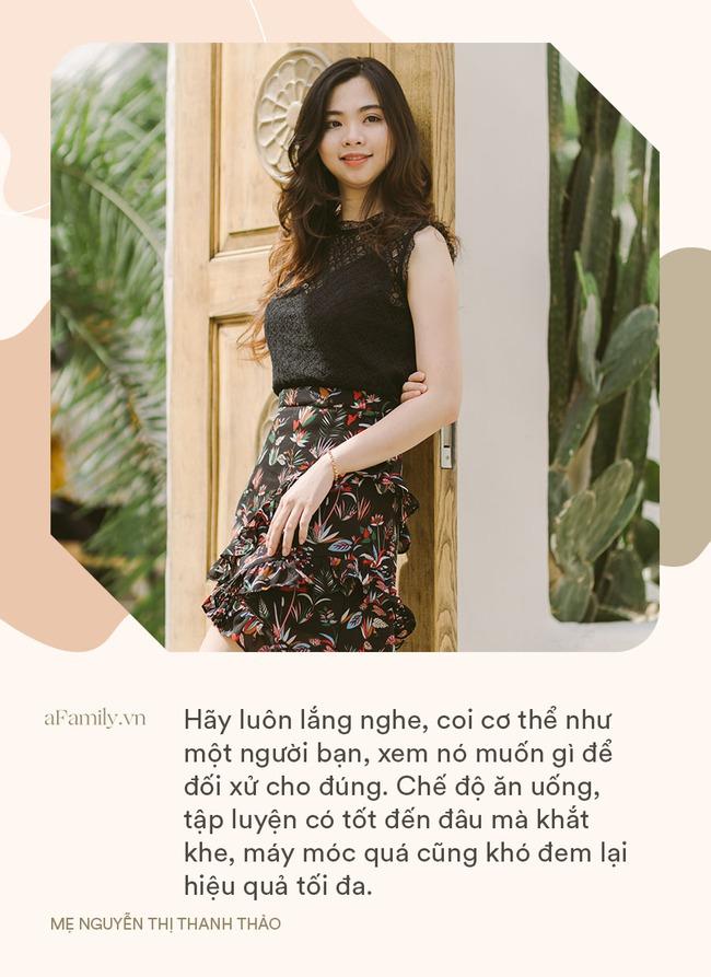 """Tăng 20kg khi mang thai, hot girl Sài Gòn đẻ xong """"tàn tạ"""", phải mượn quần mẹ chồng để mặc và cú """"lột xác"""" ngoạn mục - Ảnh 11."""