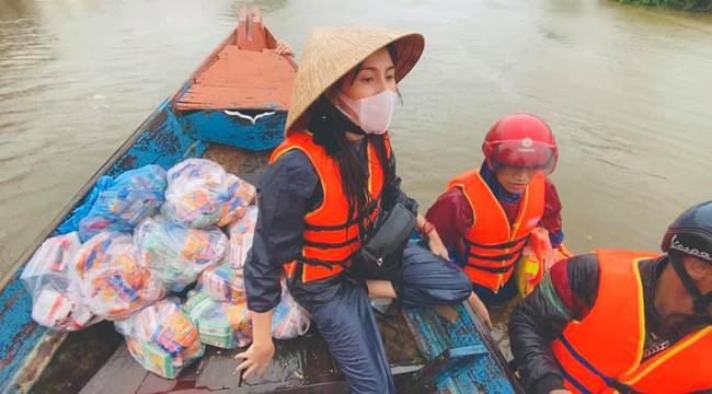 Thủy Tiên thông báo đã nhận được hơn 100 tỷ đồng tiền từ thiện vùng lũ, hy vọng mọi người đừng mắng chửi mình - Ảnh 3.