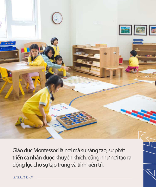 Chi tiết 4 trường mầm non Montessori thuần túy tại TP.HCM: Được Hiệp hội Montessori Quốc tế đánh giá cao, mức học phí từ 6 triệu đồng  - Ảnh 1.
