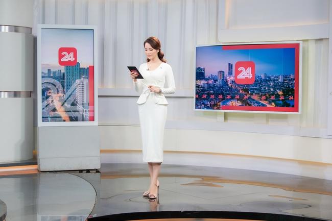 MC Thụy Vân lần đầu tái xuất trên sóng VTV sau loạt tin đồn nghỉ việc, khoe thần thái xinh đẹp khiến dân tình ngỡ ngàng - Ảnh 2.